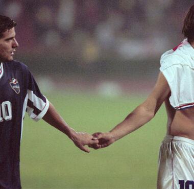 Ex Jugoslavia Calcio Croazia Serbia