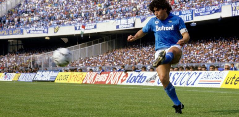 Diego Armando Maradona al Napoli anni 80