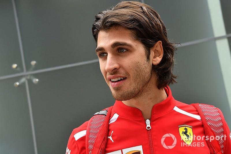 Antonio Giovinazzi pilota Ferrari